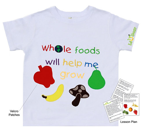 Whole Foods Will Help Me Grow Interactive Edcational T-shirt