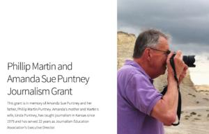 Puntney Journalism Grant