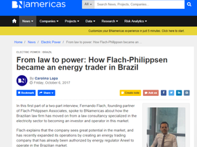 Entrevista Fernando Flach - BNamericas | Parte 1 | From law to power