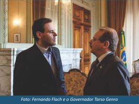 Sinergia com a iniciativa Privada - Encontro com Tarso Genro no Palácio Piratini