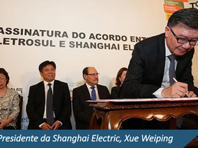Flach & Philippsen participate in signing ceremony for agreement between Eletrosul and Shanghai