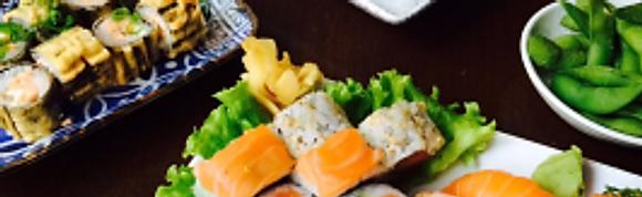 Combinados de Sushi - Almoço