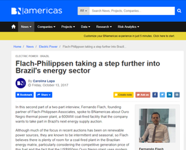 Entrevista Fernando Flach - BNamericas | Parte 2 | Taking a step further into Brazil's energy se