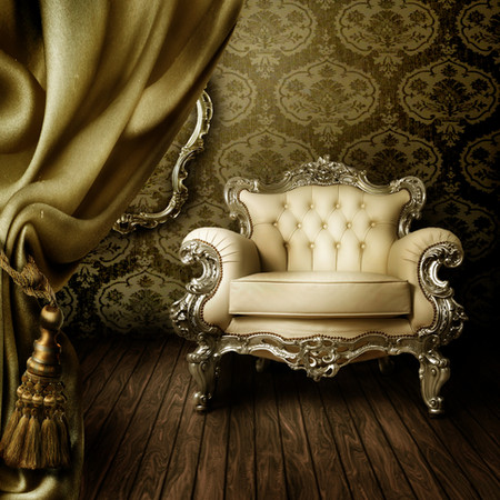 Luxurious traditional wallpaper