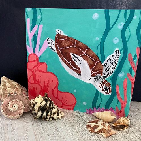 Turtle Reef Card