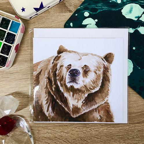 """""""Bear"""" Card"""