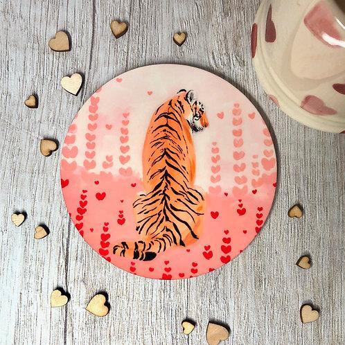 Waiting Tiger, Hidden Hearts Coaster