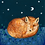 "Thumbnail: Set of Four ""Moonlit Fox"" Cards"