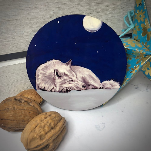 Dreaming Wolf Coaster