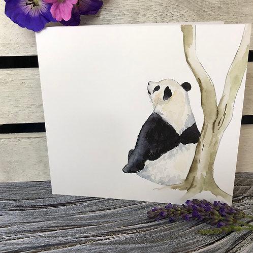 Thinking Panda Card