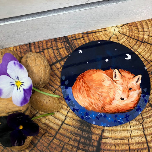 Moonlit Fox Coaster