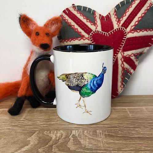 """""""Broughton Hall Peacock"""" Mug"""