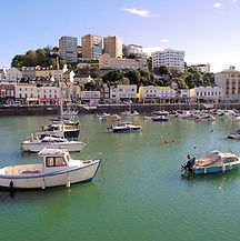 torquay harbour, where our offices are
