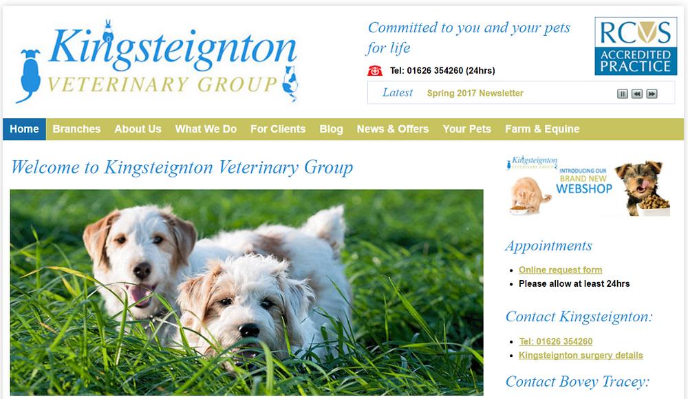 vets in kingsteignton