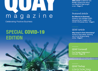 The Quay Magazine Covid-19 Special is Now Online!