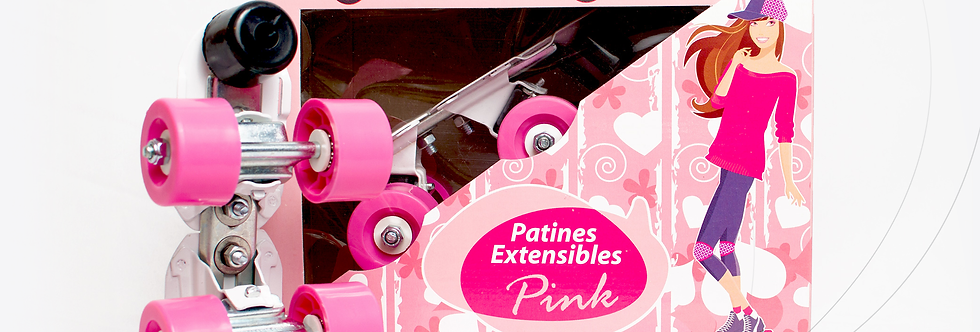 Patín extensible PINK