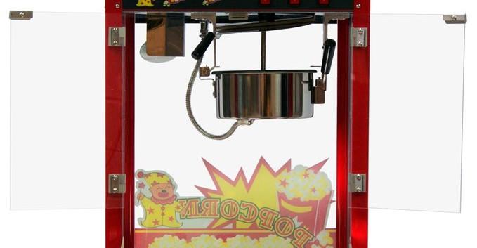 MACHINE A POP CORN - VUE ARRIERE