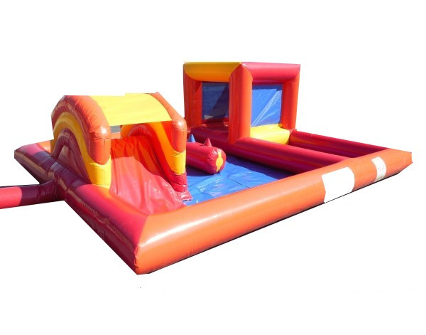 Structure gonflable play zone