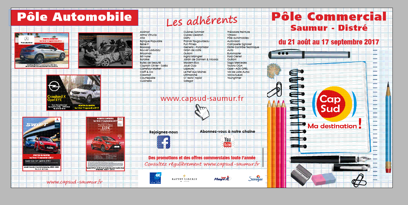 FLYER PROMOTIONELLE DE RENTREE