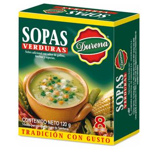 Sopa Durena Verduras 120 G