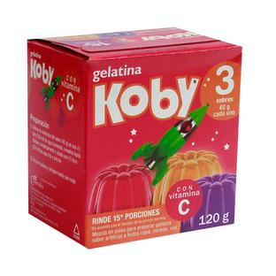 Gelatina Koby 120 g