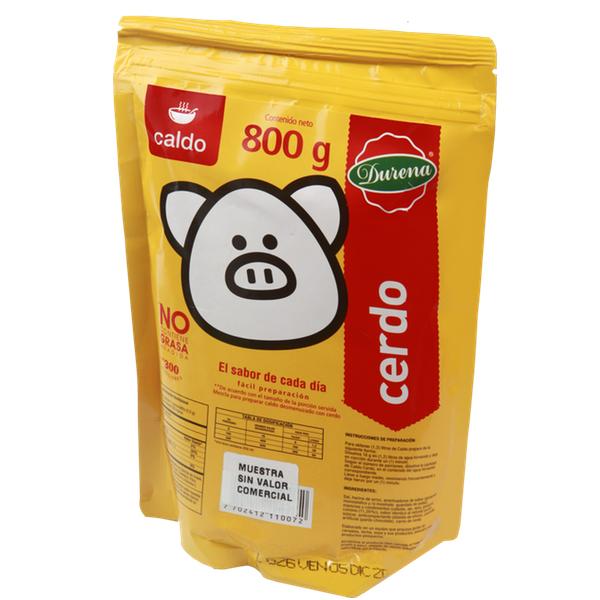 Caldo Durena Cerdo 800 G