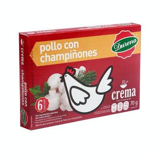 Crema Durena Pollo con Champiñones 70 g