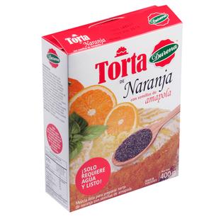 Torta Durena Naranja con Semillas de Amapola 400 G
