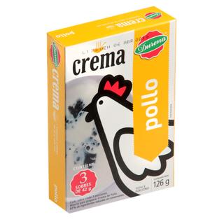 Crema Durena Pollo 126 G