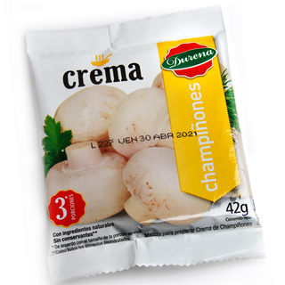 Crema Durena Champiñones 42 G