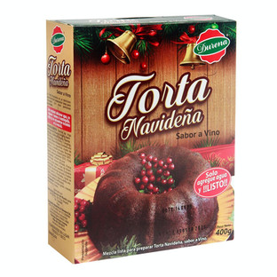 Torta Navideña Durena Vino 400 g