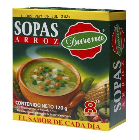 Sopa Durena Arroz 120 G