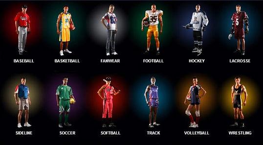DM Collection Las Vegas Dye Sublimation Team Uniforms
