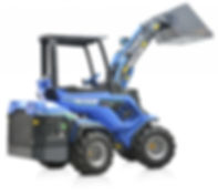 MultiOne mini loader EZ7 rised boom with