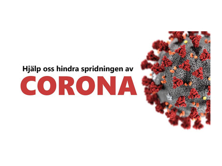 Information till alla kunder med anledning av nya Coronaviruset
