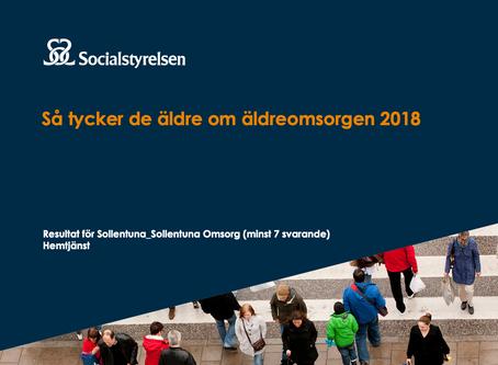 Läs om oss i Socialstyrelsens senaste undersökning