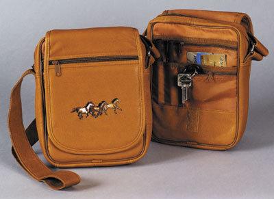 Flapover Travel Shoulder Bag