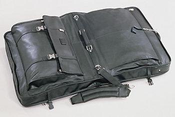 Kluge Leather Garment Bag