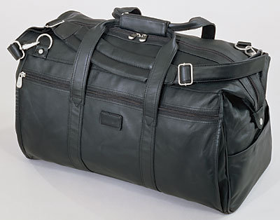Kluge Leather Wide Mouth Duffel