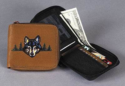 Zip Around Pocket Wallet