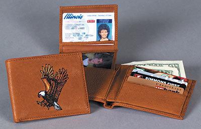 Men's Bifold Wallet w/Removable I.D. Window