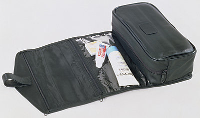 Kluge Leather Toiletry Kit