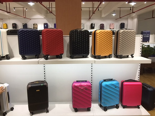 100% Poly Carbon Hardside Luggage Sets/Pieces