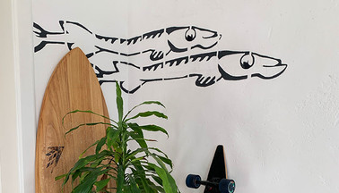 Two Fishes Mural