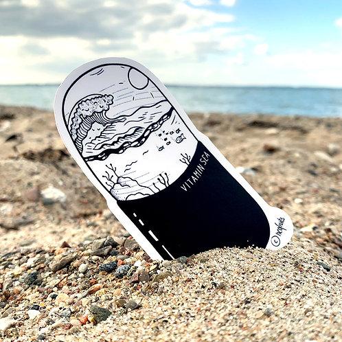"""Outdoor Sticker """"Vitamin Sea"""""""