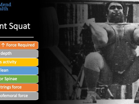 Do you ever wonder how the front squat is different from the squat?