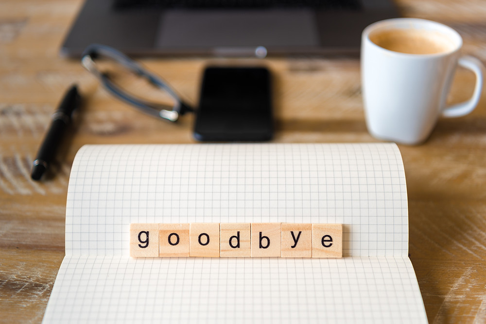 goodbye at work