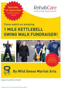 Kettlebell Swing Challenge for Rehab Care