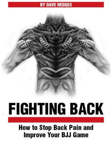 Fighting Back – How to Stop Back Pain & Improve Your BJJ Game
