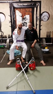 14 months in Cripple Corner, From Crutches to BJJ Gold